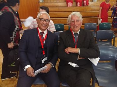 Alfred  Ngaro and  Tony  Jameson