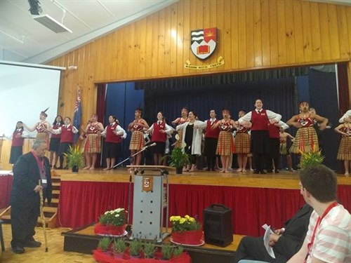 Rangeview  Kapa  Haka incl ex students
